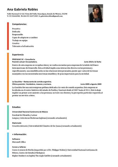 curriculum vitae by gabriela robles issuu