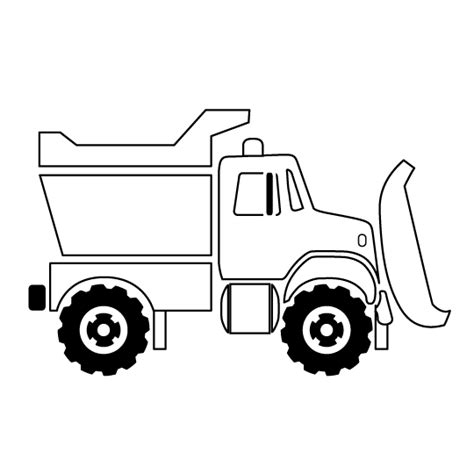 Truck Outline by Dump Truck Pictures Page
