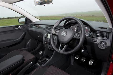 Skoda Rapid Spaceback Interior skoda rapid spaceback 2014 review auto express