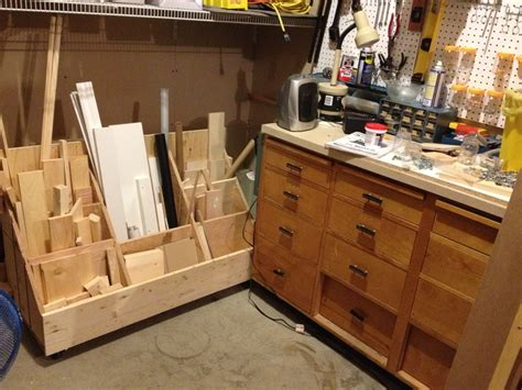 mobile woodworking shop mobile lumber storage cart woodworking projects plans