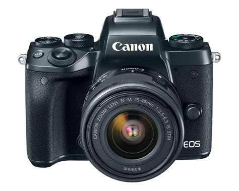 Canon Eos M5 Kit Ef M 15 45mm Is Stm Hitam canon eos m5 with ef m 15 45mm f 3 5 6 3 is stm in stock