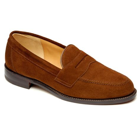 loafer suede eton brown suede loafers oliver brown gentlemen outfitters