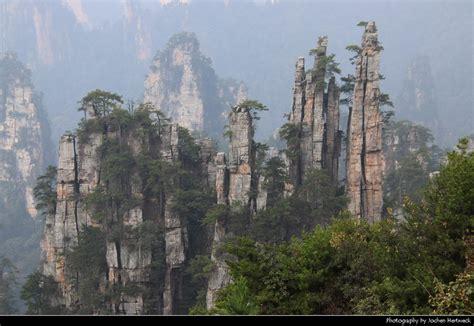 wulingyuan scenic area zhangjiajie hunan china jochen