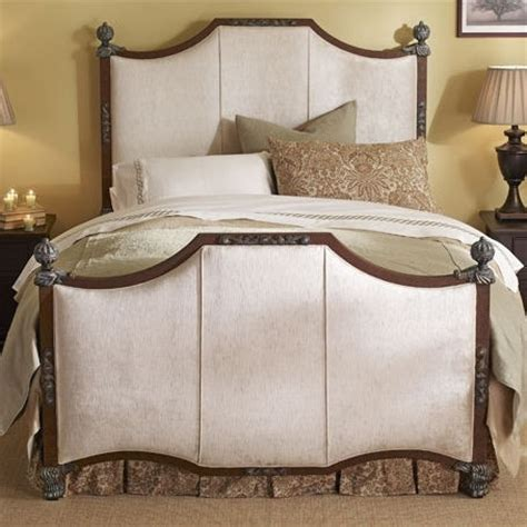 upholstered headboards with wood trim upholstered bed with wood trim home is where this