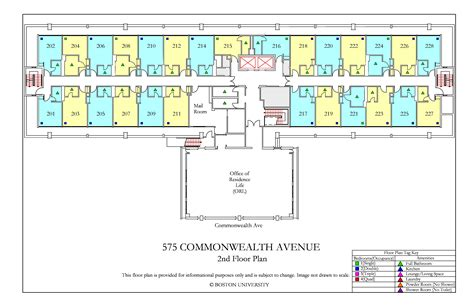 bu housing floor plans 575 commonwealth ave floor plan 187 housing boston university