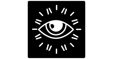 Eye With My Eye A Mega Sized Security System by Surveillance Eye Logo Free Security Icons