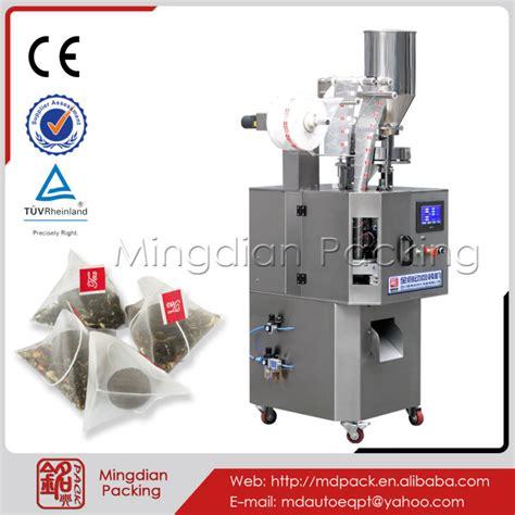 Tea Bag Machine Tea Machine by Md 160 Triangular Tea Bag Packing Machine