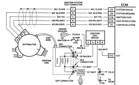 92 corvette distributor wiring diagram get free image