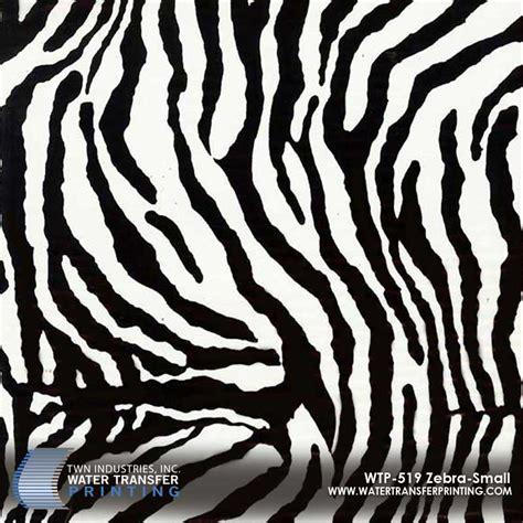 zebra pattern camouflage zebra small hydrographic film wtp 519 twn industries