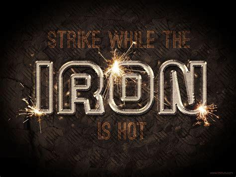 metal typography photoshop tutorial sparkling iron text effect welding metal psd font textuts