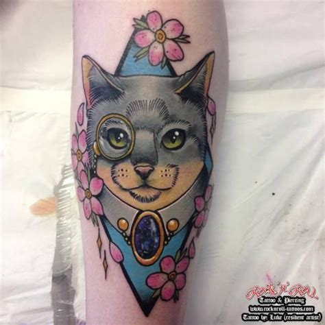 neo traditional cat tattoo 40 best traditional cat tattoo stripes images on pinterest