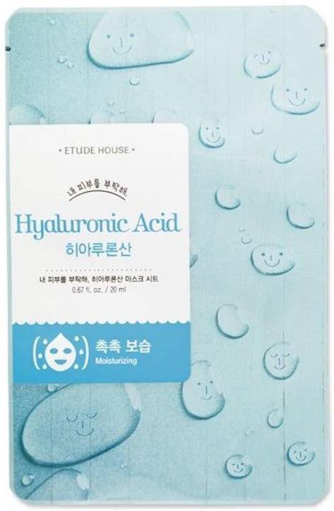 Ideal Mask Sheet etude house hyaluronic acid moisturizing mask sheet