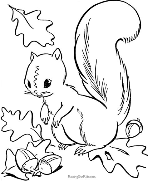 Free Fall Coloring Pages To Print autumn printables