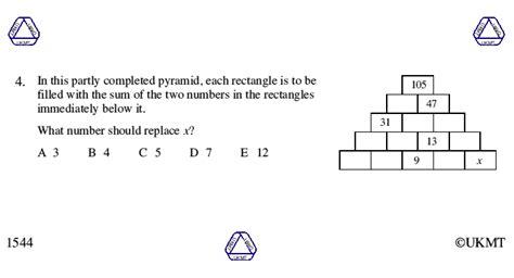 junior mathematical challenge junior mathematical challenge 2015