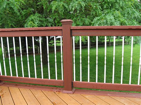 Deck Railing Balusters Deck Railings Pictures Custom Deck Railing Spindles And