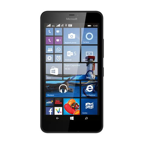 Hp Nokia Xl Detail microsoft lumia 640 xl dual sim 4g noir 5 7 quot hd nokia xl orange 5 quot offert top achat
