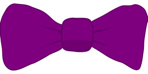 Dasi Purple Tie free vector graphic ribbon bow fashion tie girly