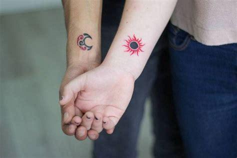 sun and moon tattoo for couples 19 sun tattoo designs ideas design trends premium