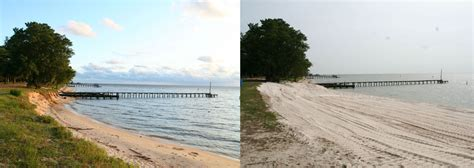public boat launch fairhope al fairhope beach gets makeover with 3 000 tons of sand al