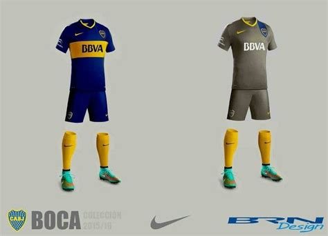 Boca Junior Away 201617 Berkualitas club atl 233 tico boca juniors home away kit 2015 16 boca kit nike football club design