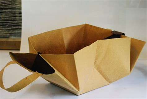 Origami Paper Bags - origami bag on behance