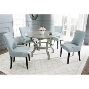 Gray Dining Room Table by Safavieh Ludlow Ash Grey Round Dining Table Furniture Bar