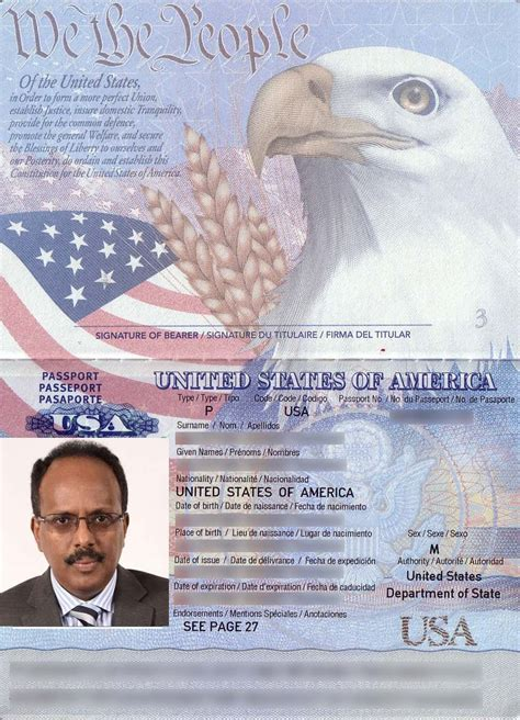 Americans Give And A Pass by Which Is More Important Us Passport Or Somali Nation