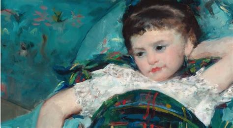 mary cassatt little girl in blue armchair little girl in a blue armchair cassatt your national