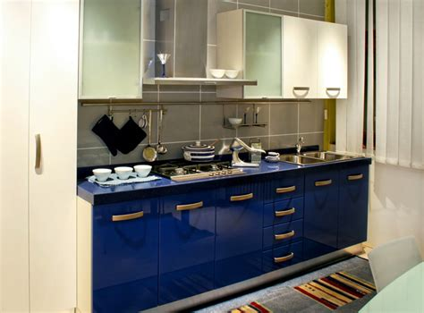kitchen cabinet modern modern blue kitchen cabinets quicua com