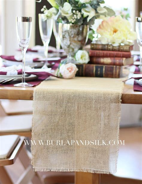 burlap table runners wholesale 25 best ideas about burlap table runners on