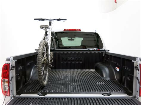 yakima truck bed rack yakima bikerbar truck bed mounted 2 bike carrier locking