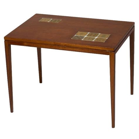 Porcelain Table L by Rosewood Table By Rosenthal With Porcelain Tiles By Bjorn Wiinblad 1960s For Sale At 1stdibs