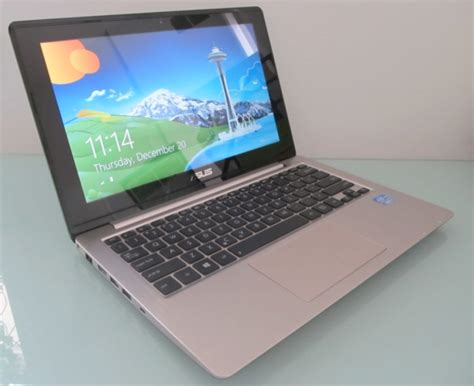 Laptop Asus X202e Touchscreen Slim asus vivobook x202e touchscreen notebook review liliputing