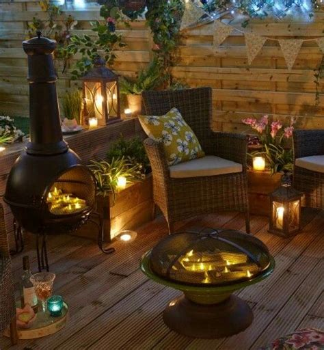 chiminea landscape ideas pits patio and on