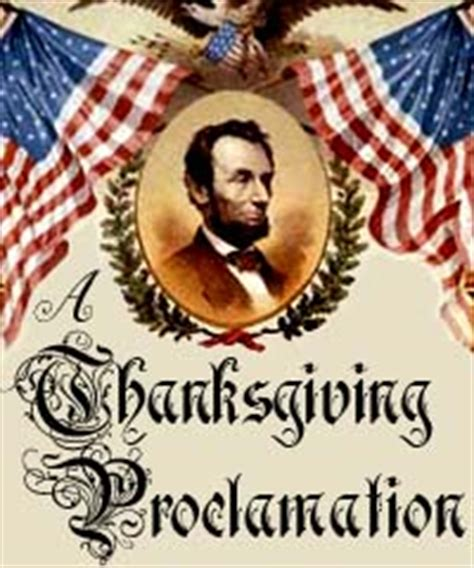 abraham lincoln on thanksgiving a thanksgiving proclamation studentsoul