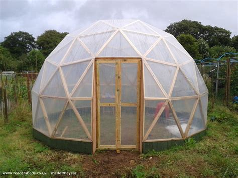 Paul Sheds by Geodesic Dome Unique From Allotment Owned By Paul