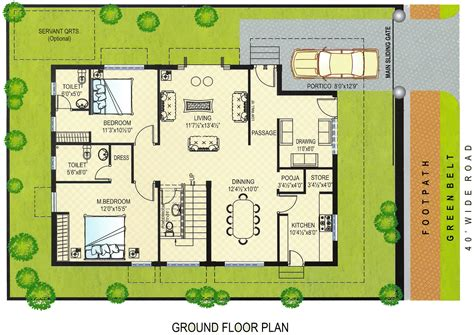 mandir floor plan tirupati temple town ground floor plans east quot