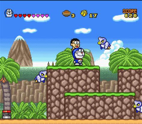 movie doraemon games doraemon 4 nobita to tsuki no oukoku 1995 snes game