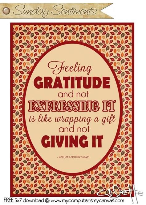 sunday sentiments week  encourage  thanksgiving quotes spiritual quotes quotable quotes