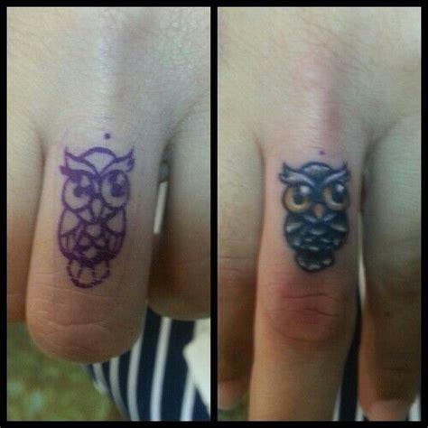 owl tattoo on finger meaning finger owl tattoo pinterest