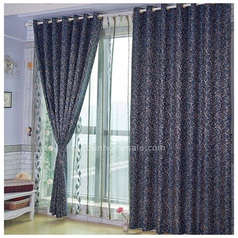 royal blue patterned curtains charming royal blue jacquard front door sidelight curtains