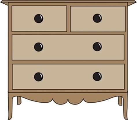 Free Drawers by Dresser Clipart Image Clip Image Of A Brown Dresser