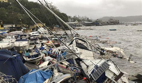 boat insurance hong kong typhoon mangkhut bill could set hong kong record of us 1