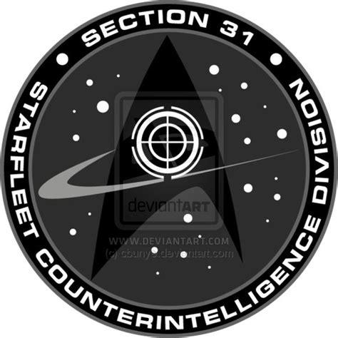 star trek deep space nine section 31 starfleet section 31 star trek starfleet pinterest