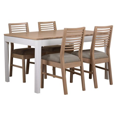 linen dining table chairs pgo table 4 linen seat chairs white wash chairs