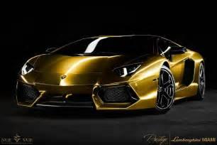 Gold Lamborghini Pictures Gold Lamborghini Aventador Wallpaper
