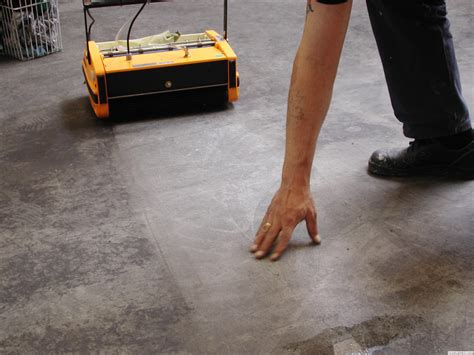 Concrete Floor Cleaning by Rotowash Floor Cleaners