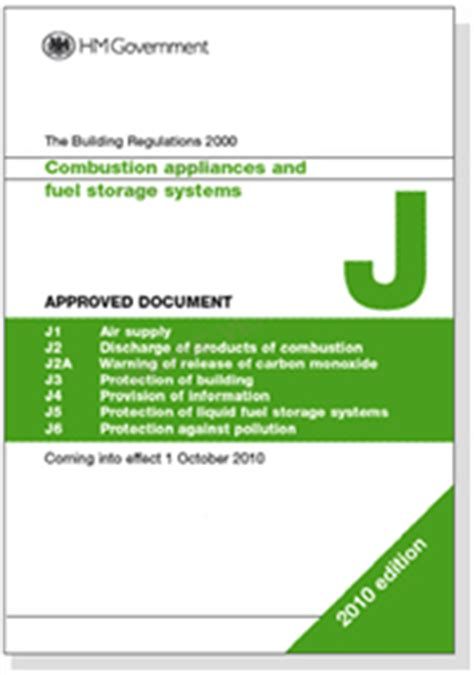 building regulations section j building regulations and standards for chimneys bfcma