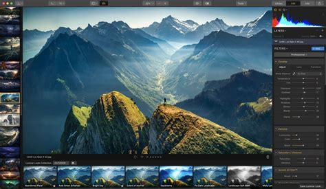 luminar   photo editing software  mac pc