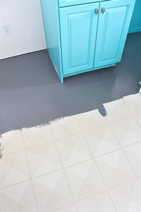 25  Best Ideas about Painted Vinyl Floors on Pinterest